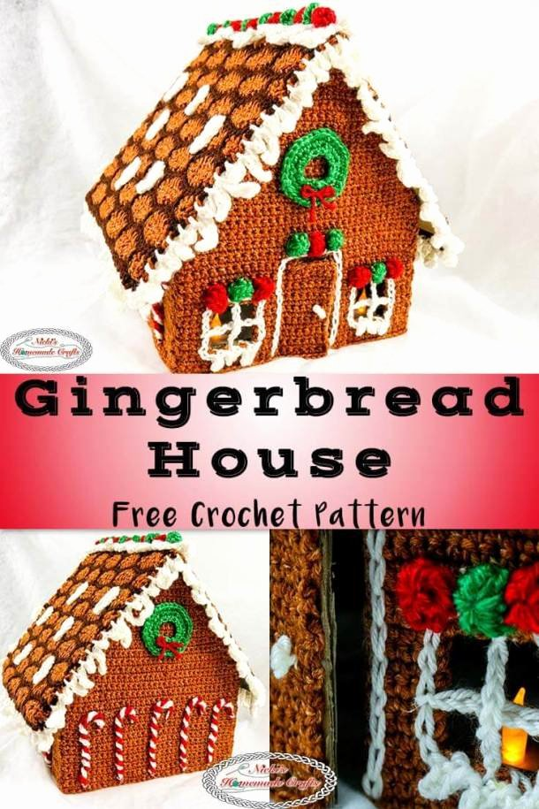 Free Gingerbread House Patterns Elegant How to Crochet A Gingerbread House for Christmas Free