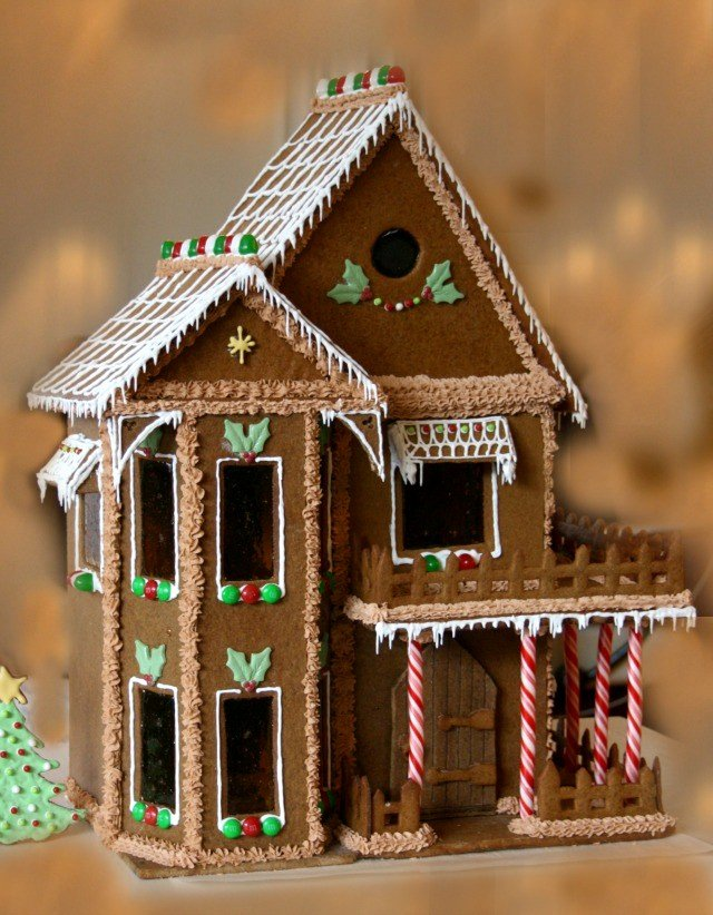 Free Gingerbread House Patterns Luxury How to Make A Gingerbread House
