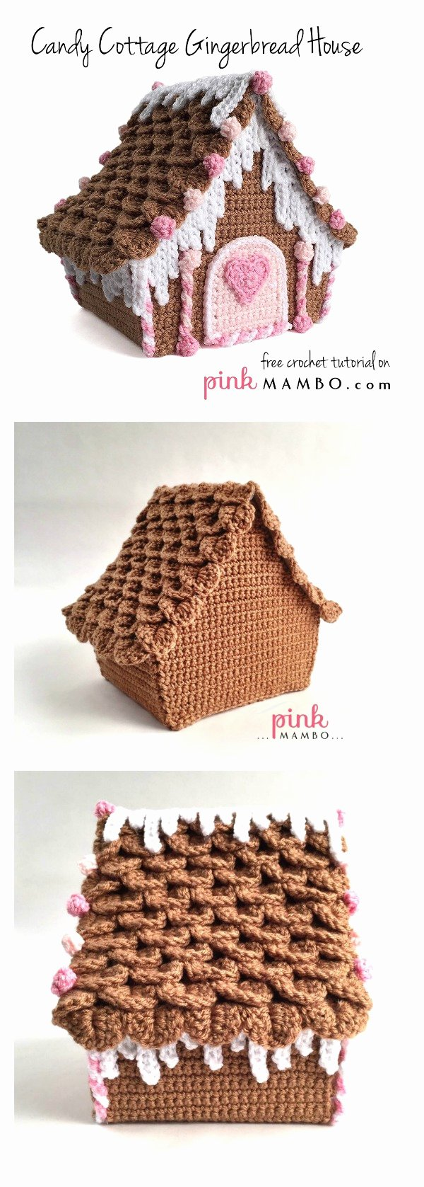 Free Gingerbread House Patterns New Amazing Candy Cottage Gingerbread House Free Crochet Pattern