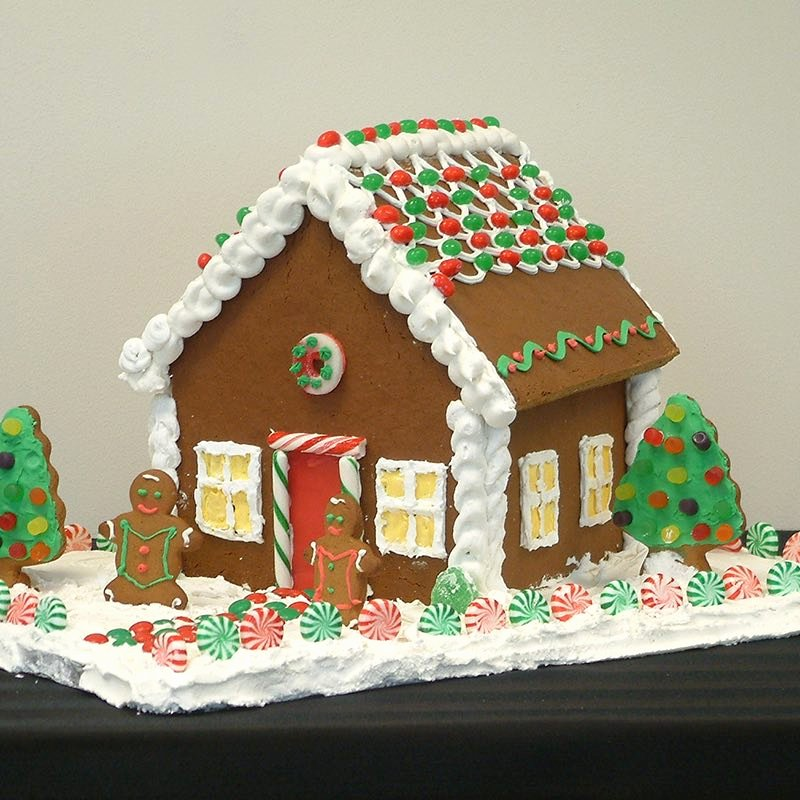 Free Gingerbread House Patterns New Gingerbread House