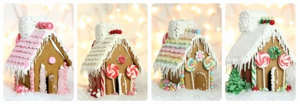Free Gingerbread House Patterns New Video Making A Gingerbread House & Free Printable