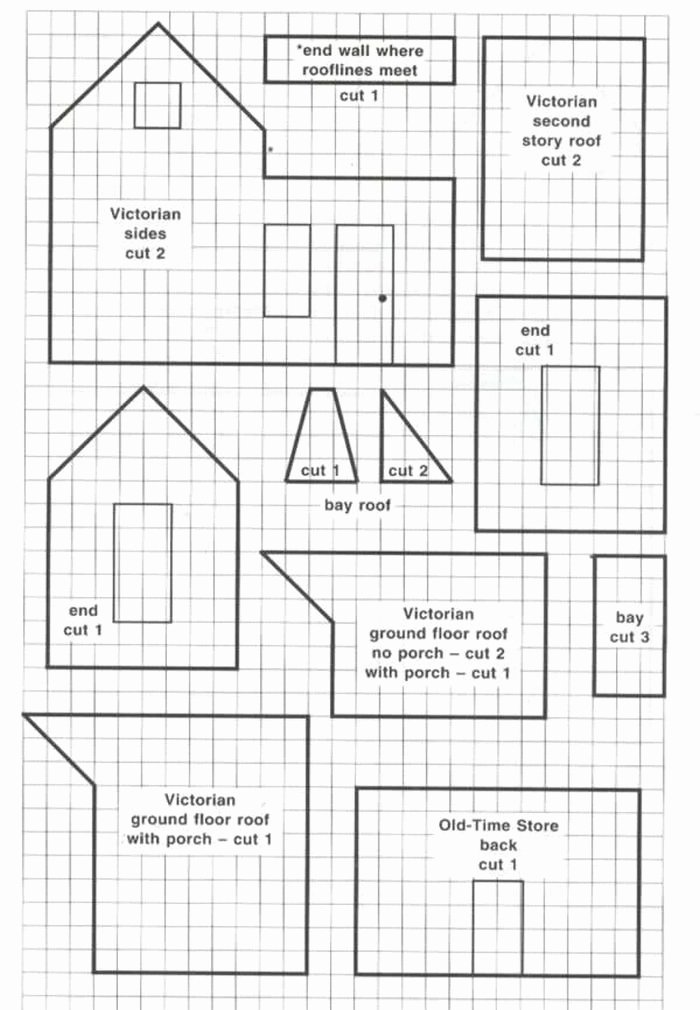 Free Gingerbread House Patterns Unique Victorian Hosue — Sketches Patterns & Templates Cakepins