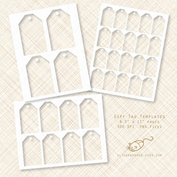 Free Hang Tag Template Beautiful Gift Tag Template Hang Tags Multi Size Value Pack for Collage