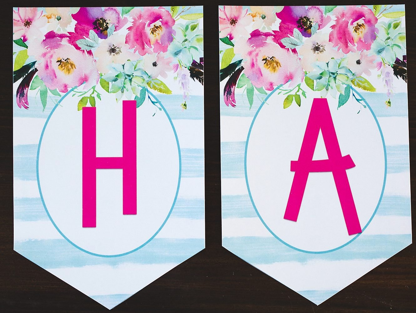 Free Happy Birthday Poster Beautiful Free Printable Birthday Banner Six Clever Sisters