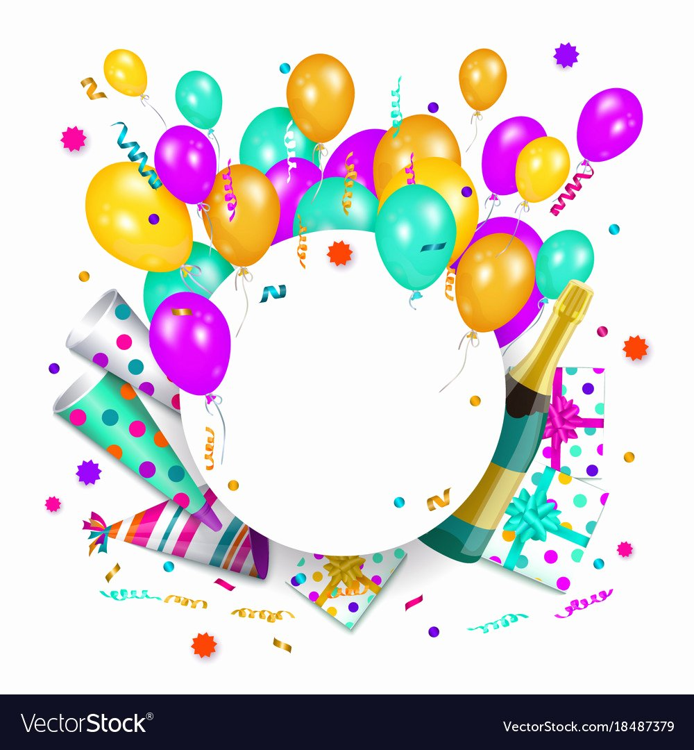 Free Happy Birthday Poster Best Of Happy Birthday Banner Poster Template Royalty Free Vector