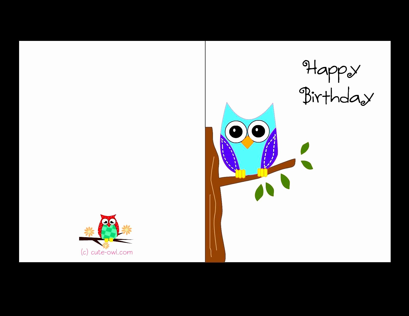 Free Happy Birthday Template Beautiful Birthday Card Template