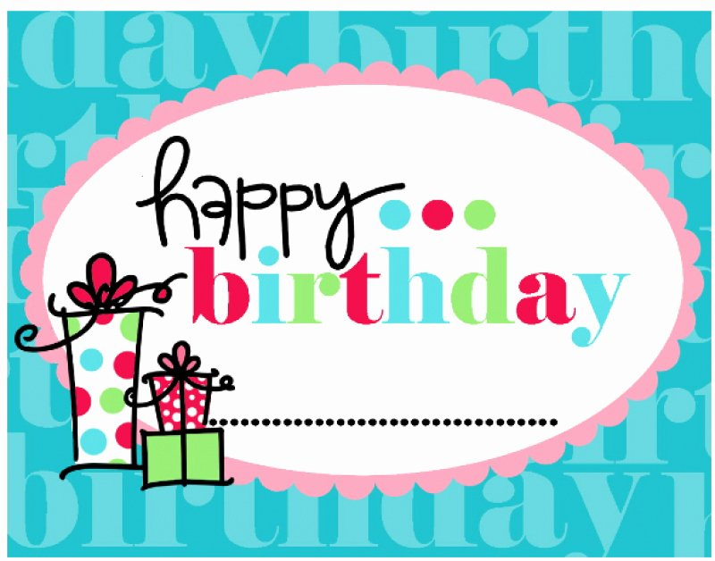 Free Happy Birthday Template Best Of Free Printable Happy Birthday Banner Templates