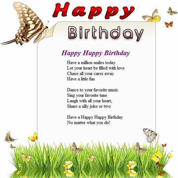 Free Happy Birthday Template Elegant Happy Birthday