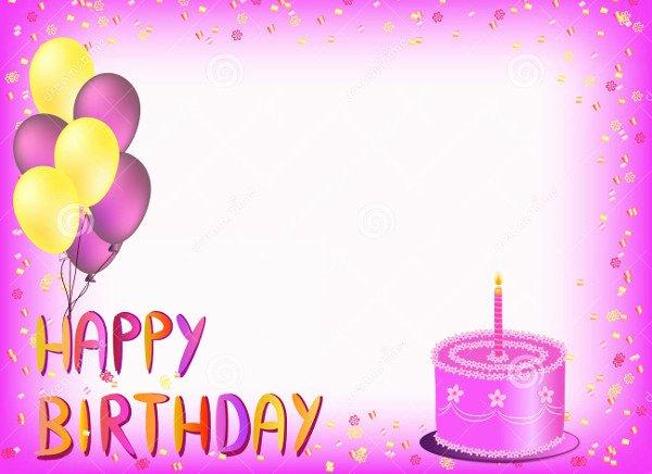 Free Happy Birthday Templates Lovely 72 Birthday Card Templates Psd Ai Eps
