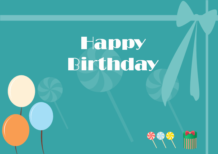 Free Happy Birthday Templates Lovely Free Editable and Printable Birthday Card Templates