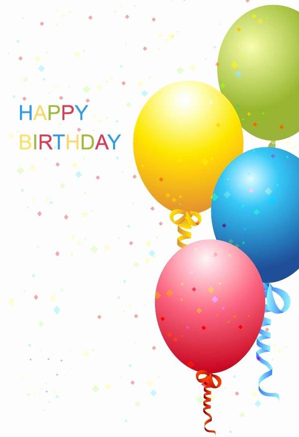Free Happy Birthday Templates Luxury Vector Birthday Template Free Free Vectors