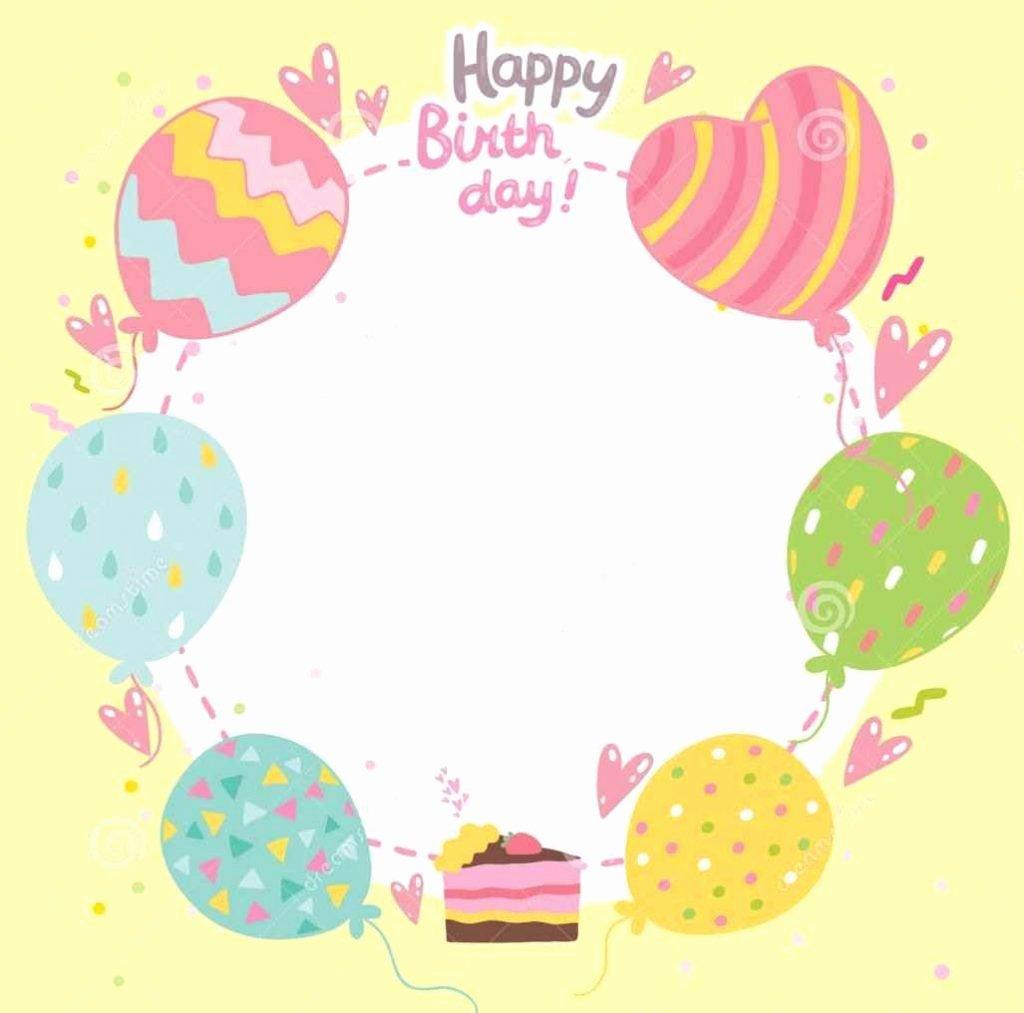 Free Happy Birthday Templates New Free Happy Birthday Templates Template Update234