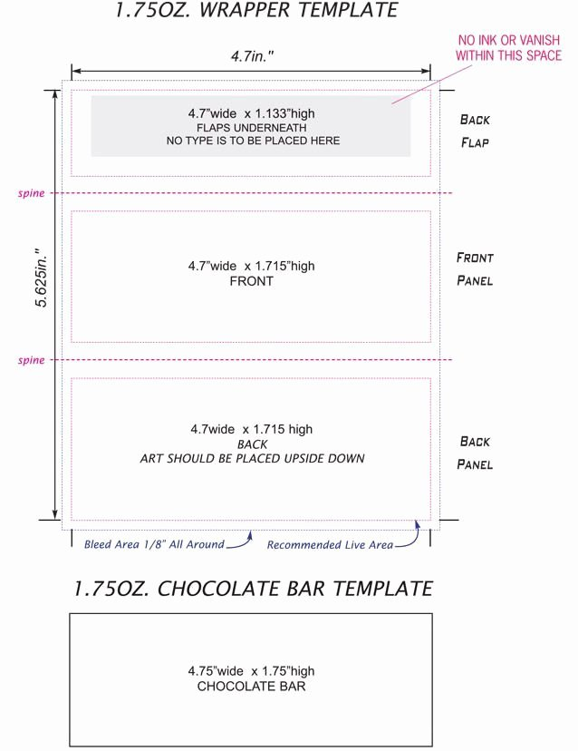 Free Hershey Bar Wrapper Template Luxury Free Mini Candy Bar Wrapper Template Free Candy Bar