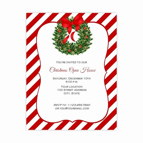 Free Holiday Party Templates Beautiful Christmas Invitation Flyer Holiday Party Flyer 8 5 X 11