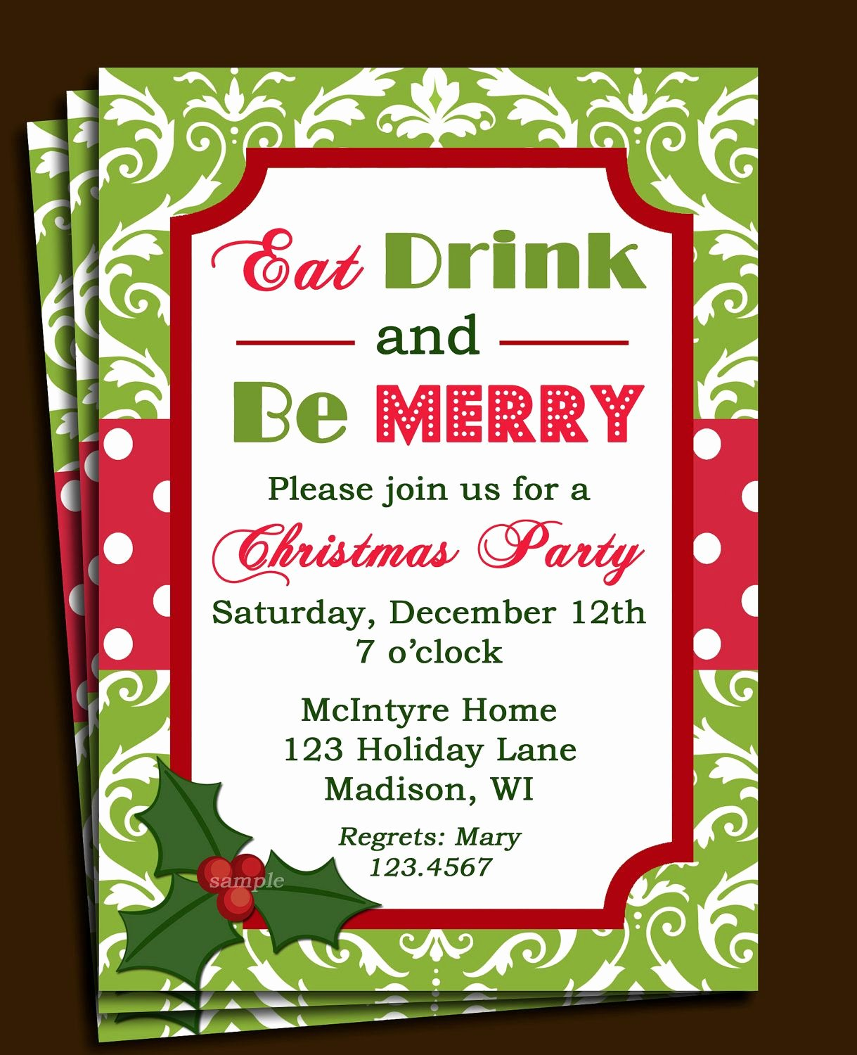 Free Holiday Party Templates Unique Free Printable Fice Christmas Party Invitations