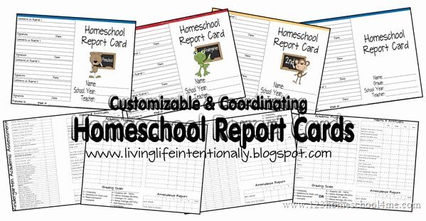 Free Homeschool Report Card Template Luxury Ultimate Free Homeschool Planning List Free Homeschool