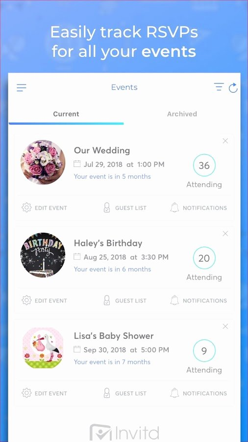 Free Invitation Maker App Lovely Invitd Invitation Maker & Text Rsvp 🎉 android Apps On