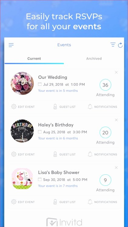 Free Invitation Maker App Unique Invitd Invitation Maker & Rsvp by Invitd