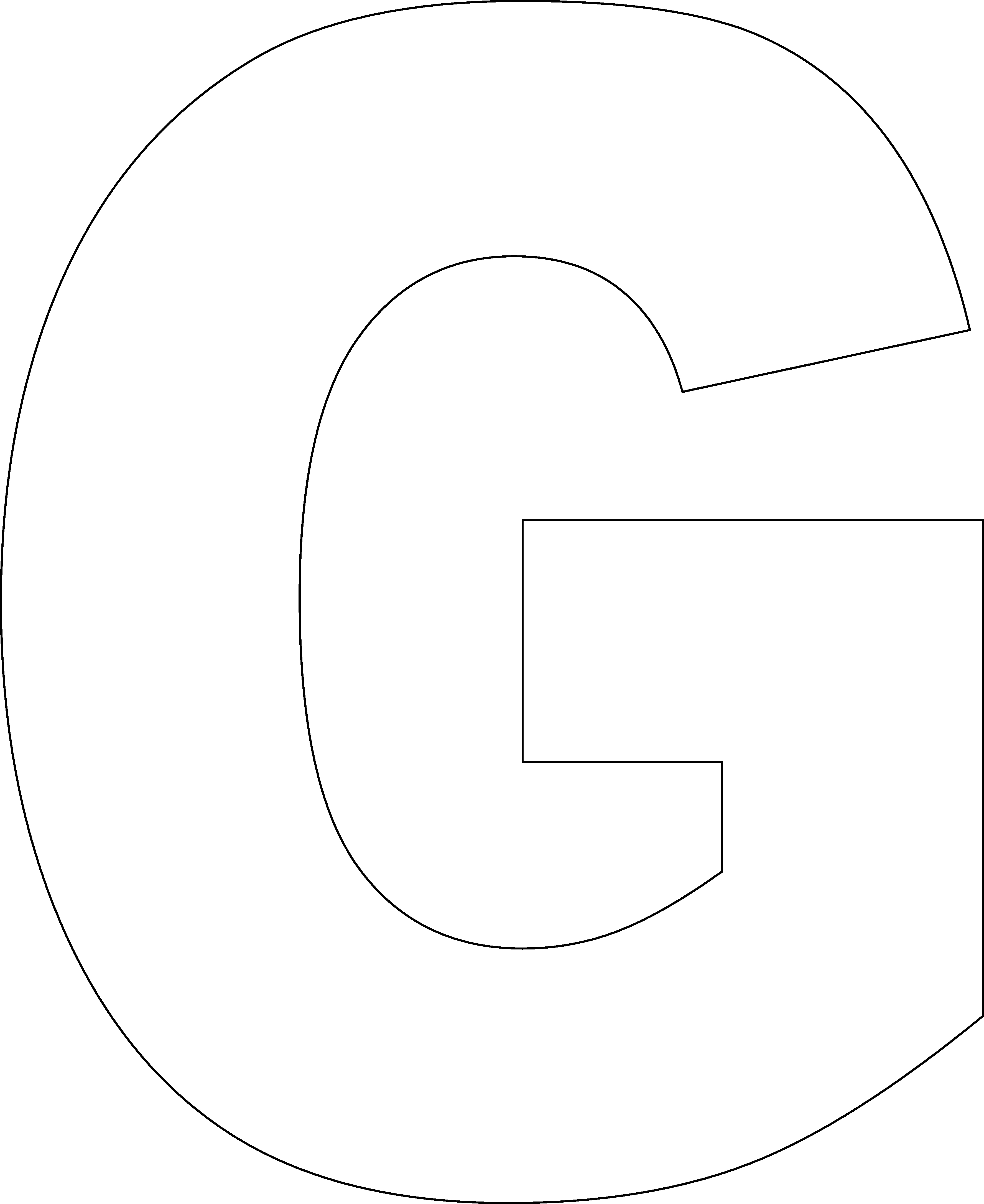 Free Large Printable Letters Awesome Letter G Printable Templates Printable