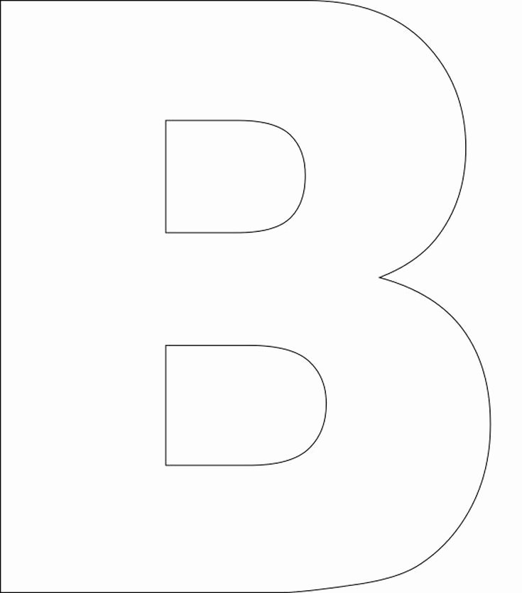 Free Large Printable Letters Best Of Best 25 Alphabet Templates Ideas On Pinterest