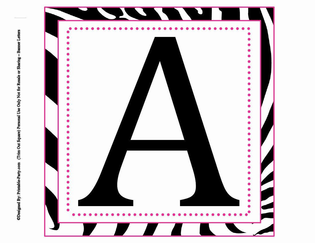 Free Large Printable Letters New 8x8 Inch Square Printable Alphabet Letters