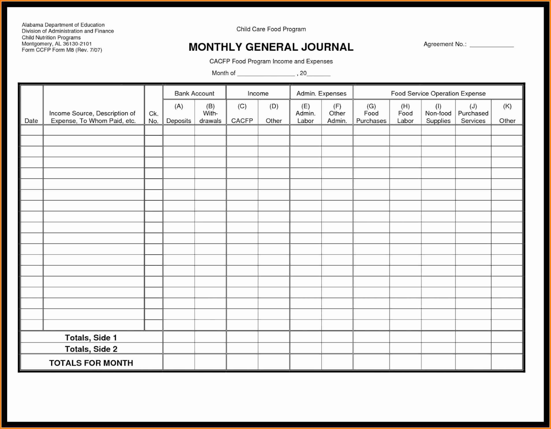 Free Ledger Sheets to Print Beautiful Free Printable General Ledger Paper – Clgss