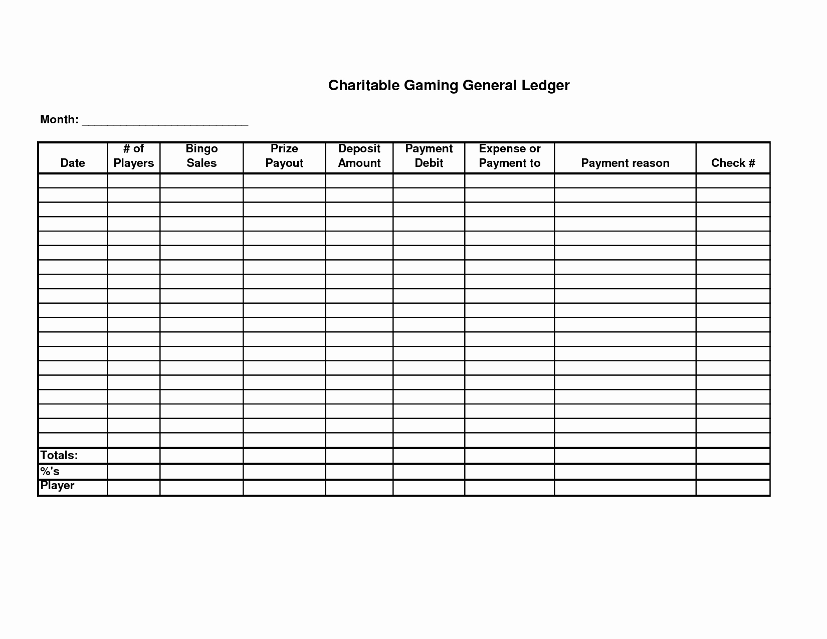 Free Ledger Sheets to Print Best Of 5 Best Of Free Printable Ledger Balance Sheet