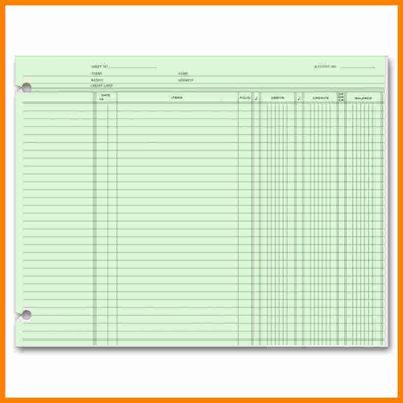 Free Ledger Sheets to Print Lovely 7 Free Printable Accounting Ledger Sheets