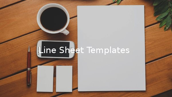 Free Line Sheet Template New 10 Line Sheet Templates Free Sample Example format