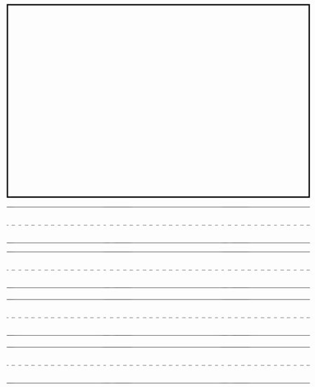 Free Lined Paper for Kindergarten Luxury Best S Of Printable Kindergarten Paper Printable