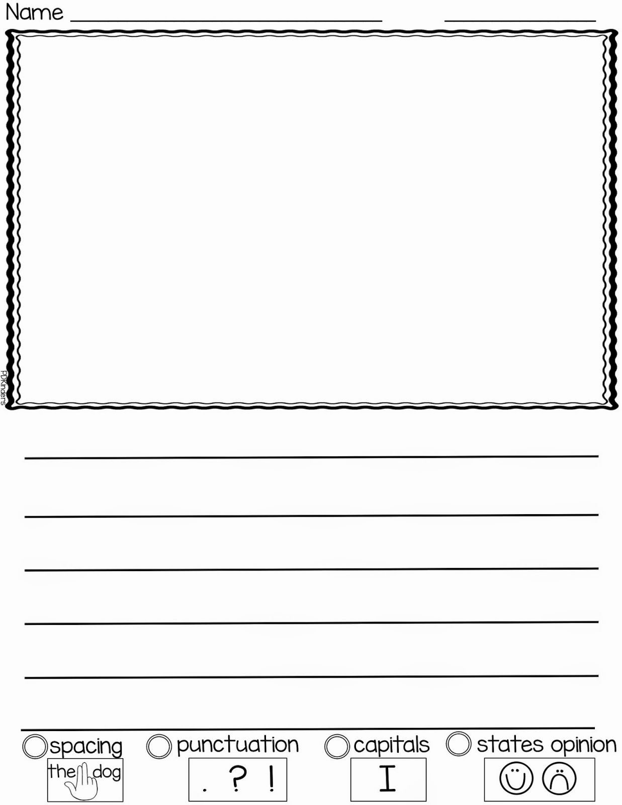 Free Lined Paper for Kindergarten New Pin by Jennifer Hoelscher On School