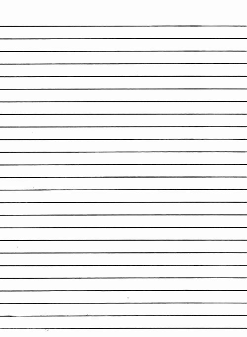 Free Lined Paper to Print Beautiful Lined Writing Paper Template