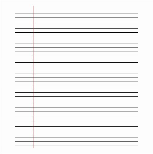 Free Lined Paper to Print Best Of Printable Lined Paper Pdf