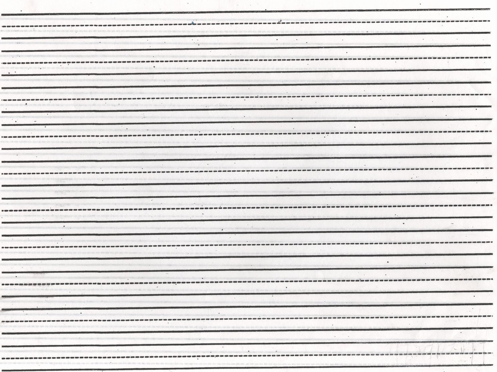 Free Lined Paper to Print Elegant Elementary School Enrichment Activities Lined Paper