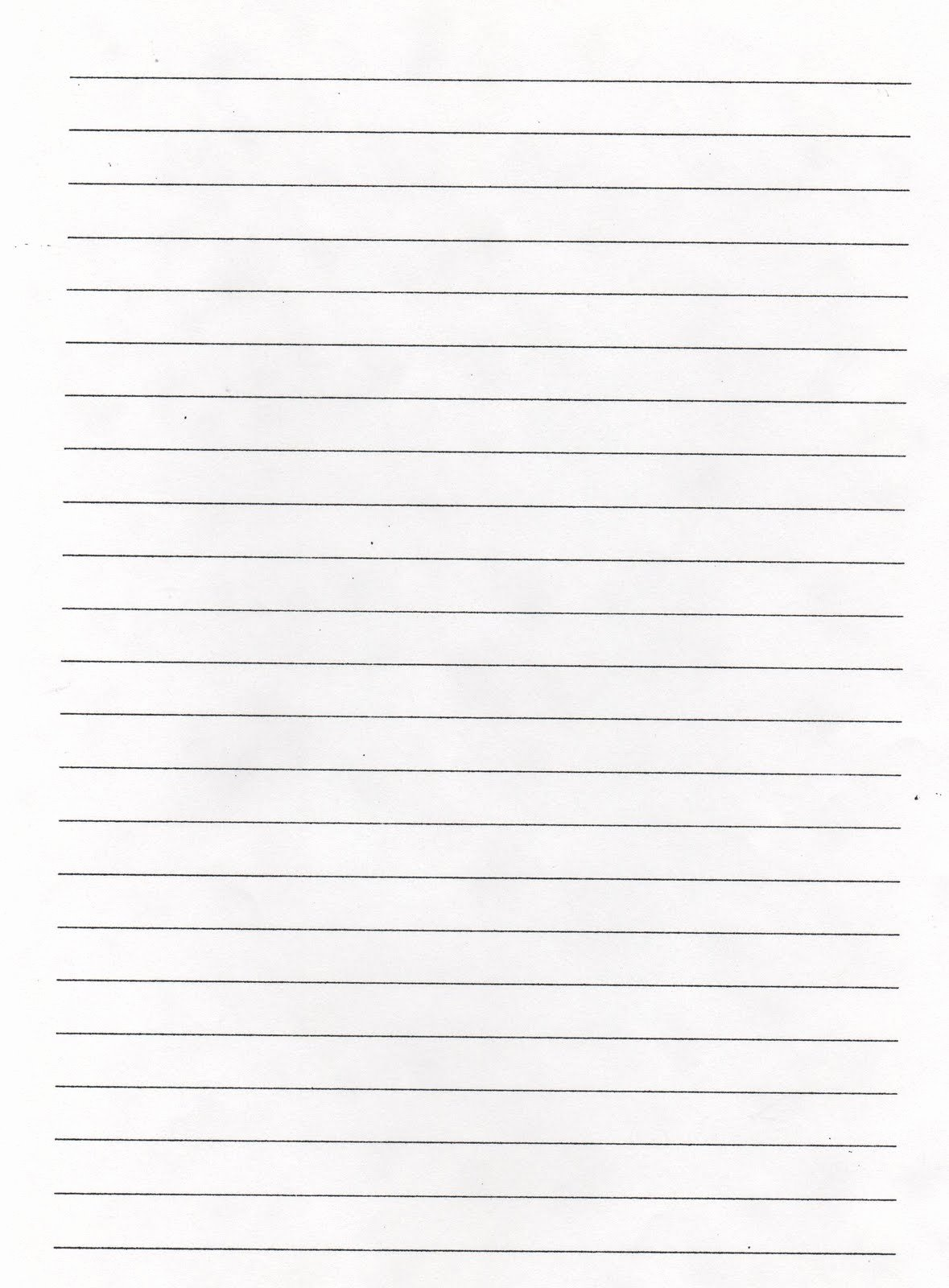 Free Lined Paper to Print New Elementary School Enrichment Activities Lined Paper