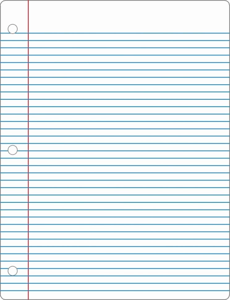 Free Lined Paper to Print Unique Free Printable Notebook Paper College & Wide Ruled