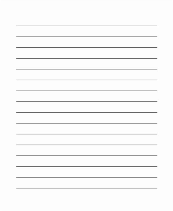 Free Lined Writing Paper Best Of Lined Paper Printable