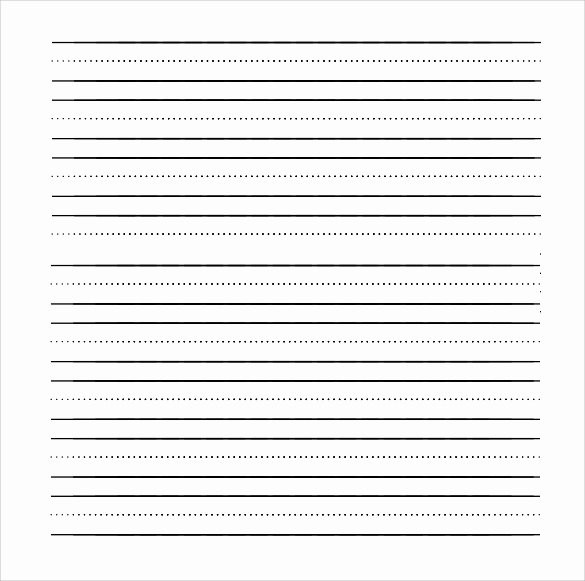Free Lined Writing Paper Luxury Free 11 Lined Paper Templates In Pdf