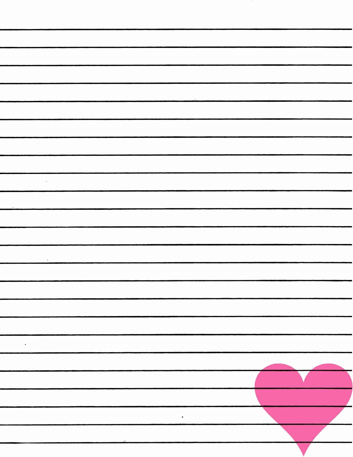 Free Lined Writing Paper Luxury Just Smashing Paper Freebie Pink Heart Lined Paper
