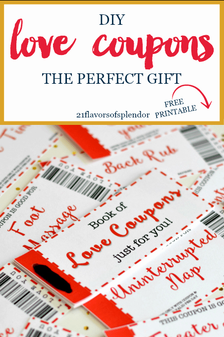 Free Love Coupons for Him Beautiful Free Printable Love Coupons the Perfect Gift 21 Flavors