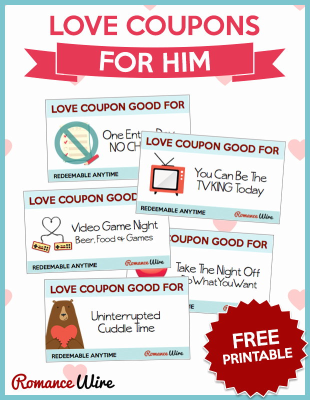 Free Love Coupons for Him Best Of Awesome Love Coupons for Him