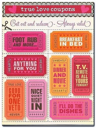 Free Love Coupons for Him Best Of Cute Ideas for Diy Valentine S Day Gift Printable