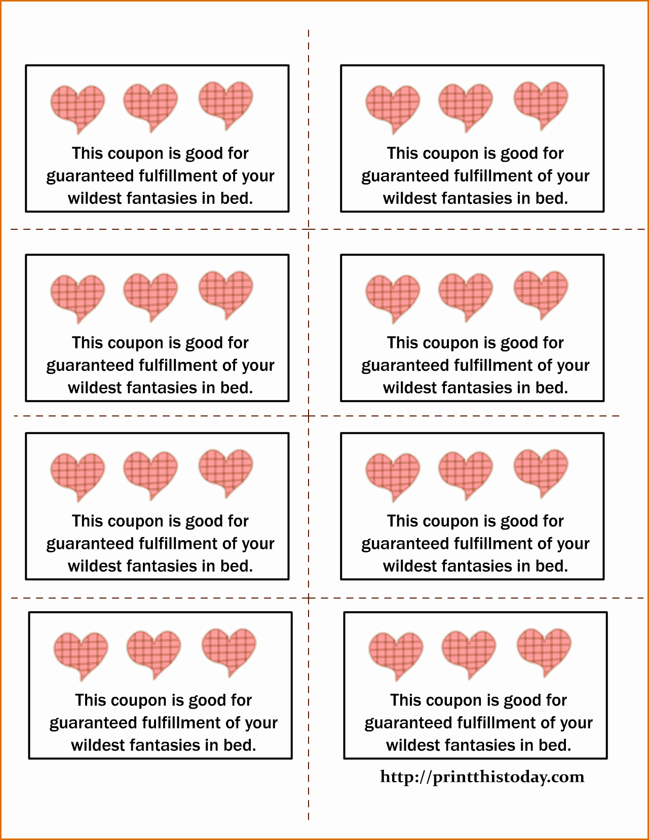 Free Love Coupons for Him Inspirational 5 Printable Coupon Template