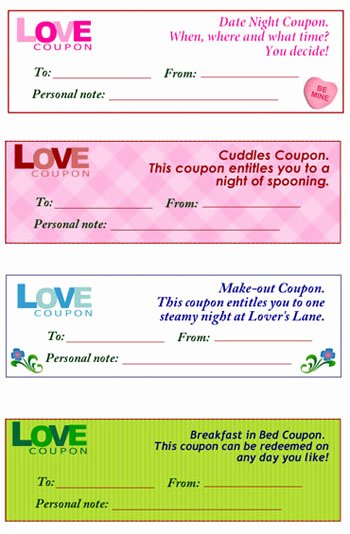 Free Love Coupons for Him Lovely Free Love Coupons Chatelaine