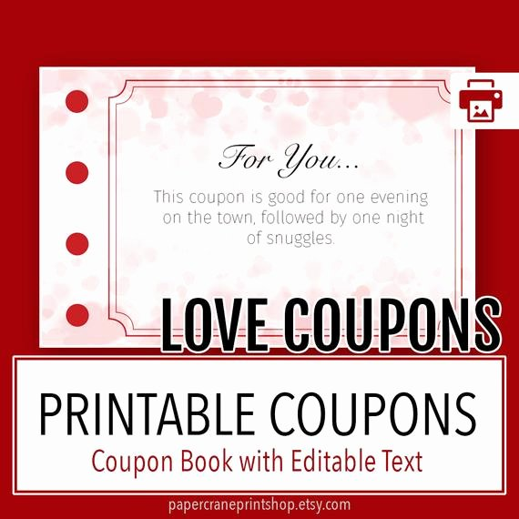Free Love Coupons for Him Unique Love Coupons Love Coupon Book Tag Love Coupons for Him