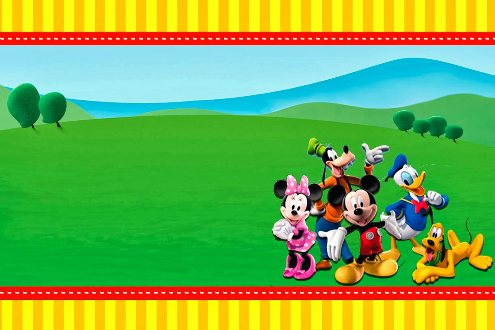 Free Mickey Mouse Clubhouse Invitations Best Of Mickey Clubhouse Invitations and Party Free Printables