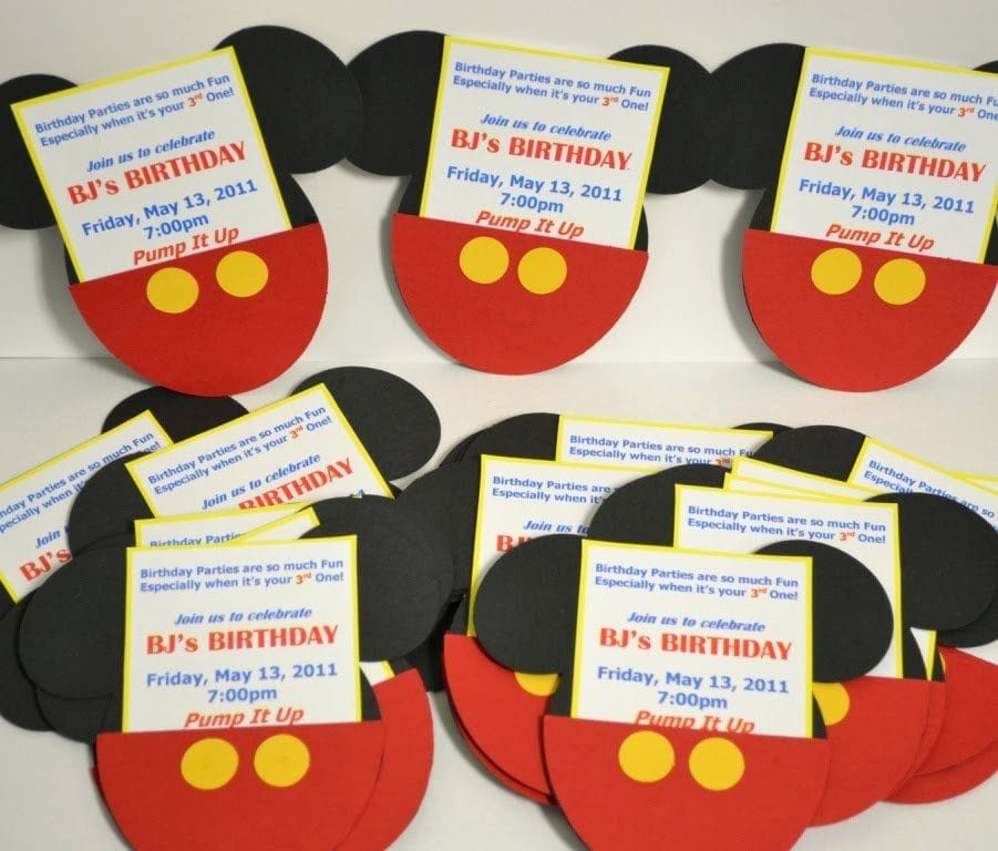 Free Mickey Mouse Clubhouse Invitations Best Of Mickey Mouse Clubhouse Ticket Invitations Free Template