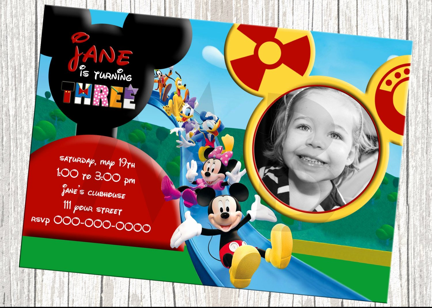 Free Mickey Mouse Clubhouse Invitations Inspirational Mickey Mouse Clubhouse Invitations for Special Birthday Party