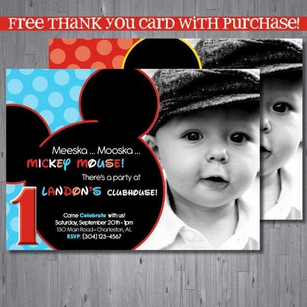 Free Mickey Mouse Clubhouse Invitations New 25 Best Ideas About Birthday Invitation Templates On
