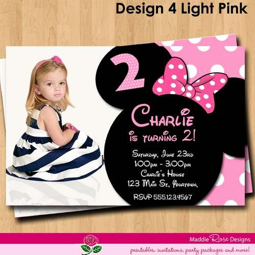 Free Minnie Mouse Invitations Personalized Fresh Minnie Mouse Birthday Invitations Personalized Free